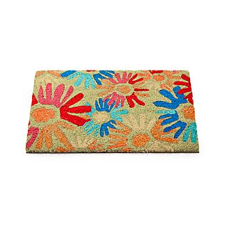 Flower Pop Coir Doormat