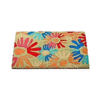 Flower Pop Coir Doormat