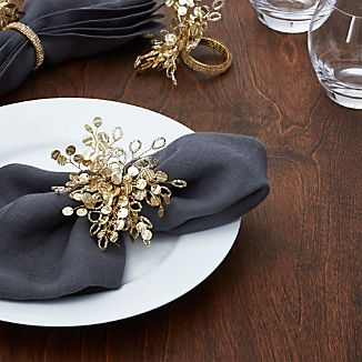 Flurry Beaded Napkin Ring