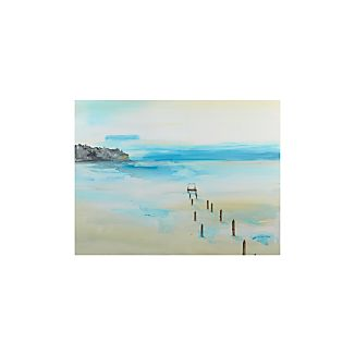 Foggy Dock Print