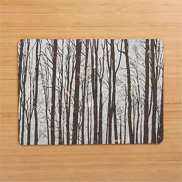 Foggy Forest Placemat