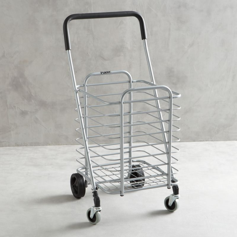 Polder ® Folding Shopping Cart with Lock