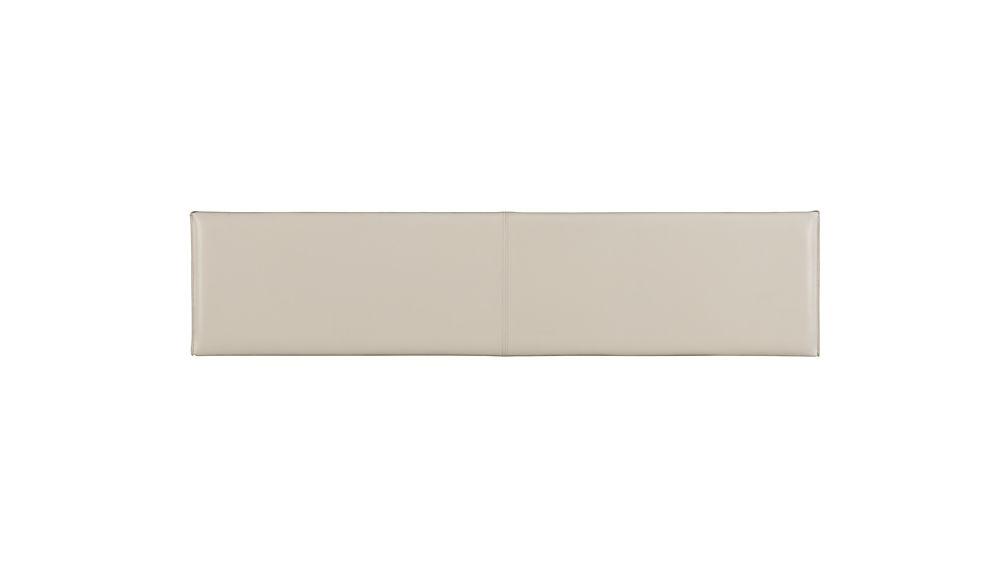 "Folio 64"" Bonded Leather Bench"