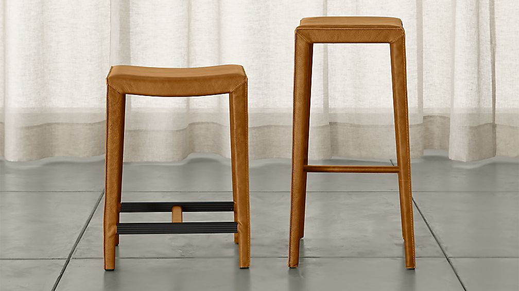 top grain leather bar stools 2