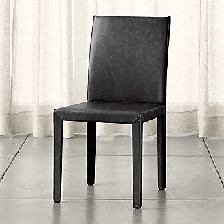 Folio Viola Top-Grain Leather Dining Chair