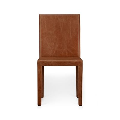 Folio Sienna Top-Grain Leather Side Chair