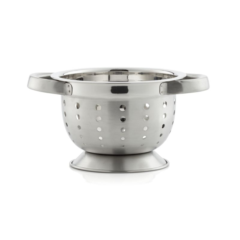 Small Footed Colander