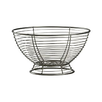 Footed Wire Fruit Basket