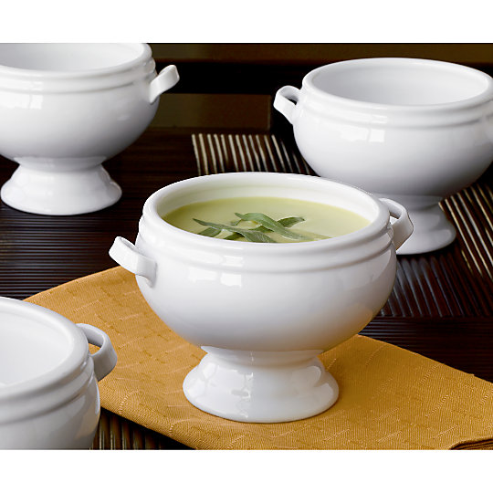 footed soup bowls