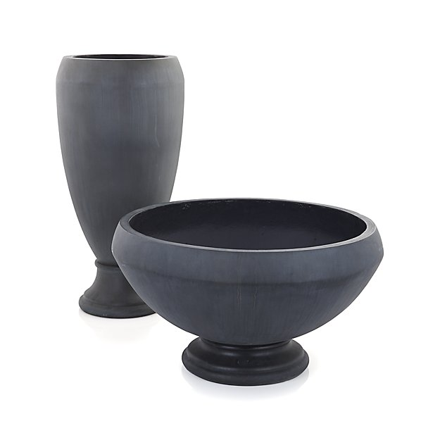 Footed Urn Planters