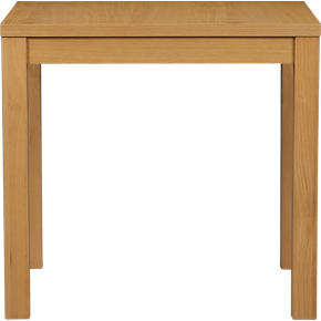 Form Light Oak Square Table