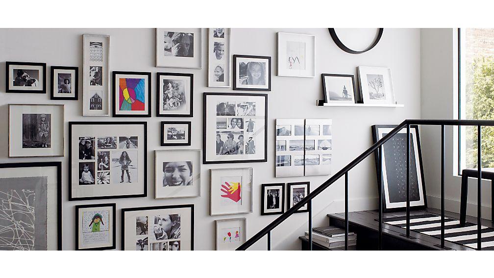 """Davis 36"""" Brushed Silver Wall Shelf"""