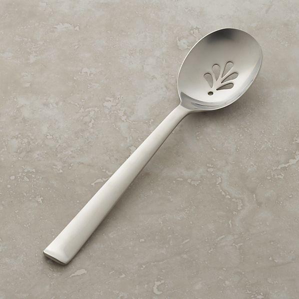 Foster Pierced Serving Spoon