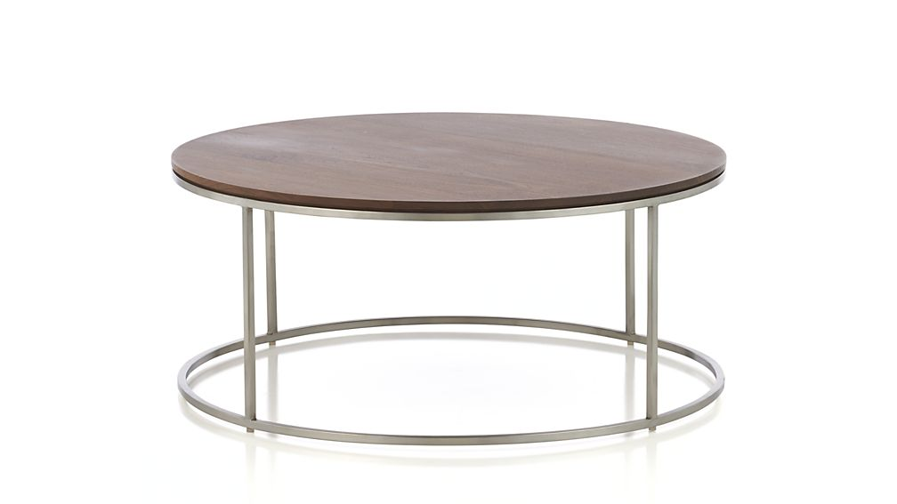 Frame Round Coffee Table