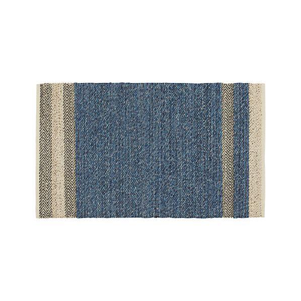 Fraser Blue 3'x5' Rug