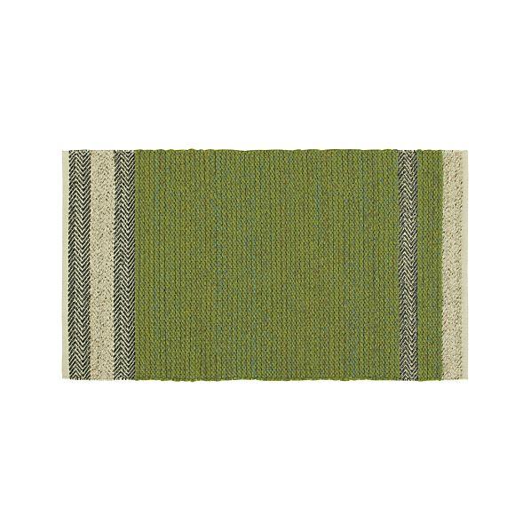 Fraser Green 3'x5' Rug