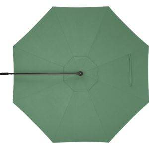 10' Round Sunbrella® Bottle Green Free-Arm Umbrella Cover