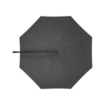 10 Round Sunbrella® Charcoal Free-Arm Umbrella Cover