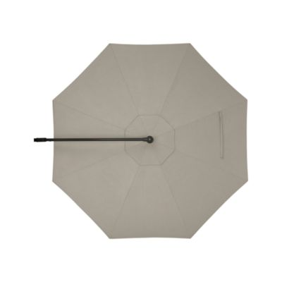 10' Round Sunbrella® Stone Free-Arm Umbrella Cover