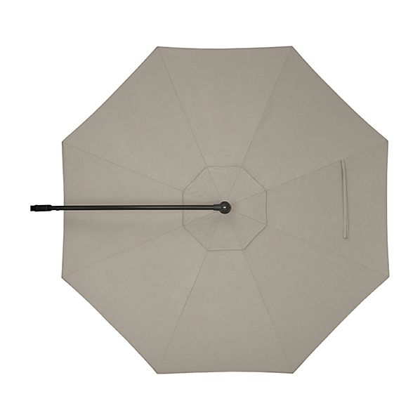 10' Round Sunbrella ® Stone Cantilever Umbrella Canopy