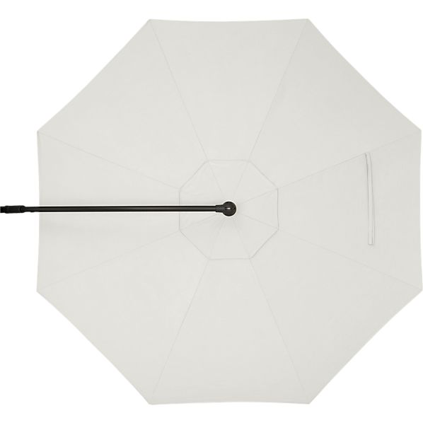 10' Round Sunbrella ® White Sand Free-Arm Umbrella Cover