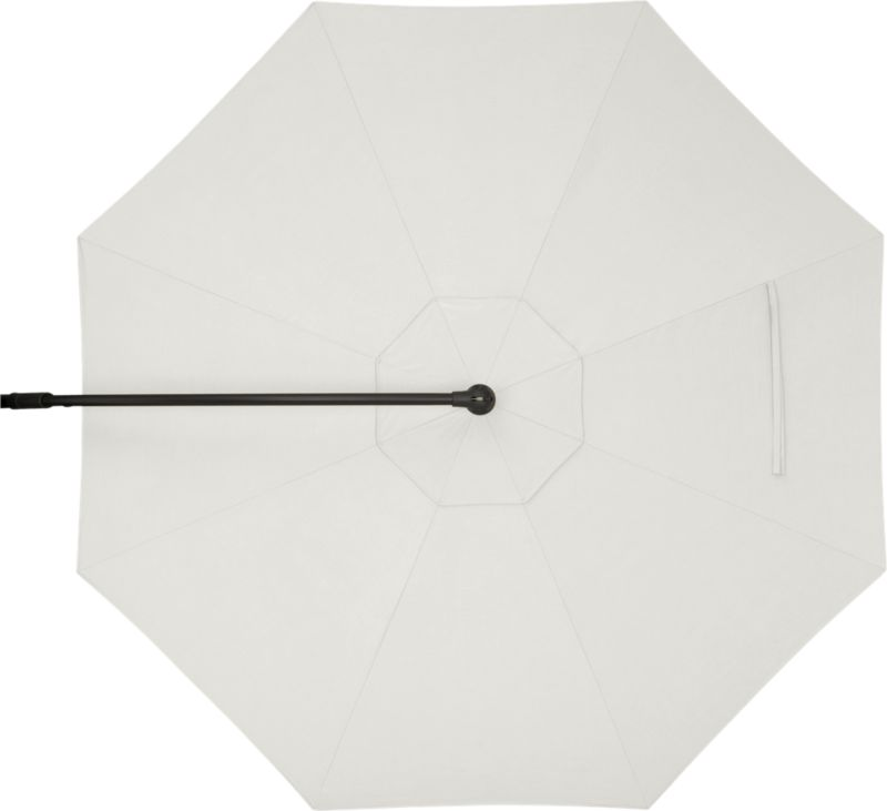 A smart neutral white sand umbrella cover of Sunbrella® acrylic fabric blocks out 98% of the sun's UV rays. Fits our 10' Round Free-Arm Umbrella Frame with Base (sold separately).<br /><br /><NEWTAG/><ul><li>Fade- and mildew-resistant Sunbrella acrylic</li><li>Made in USA</li></ul>