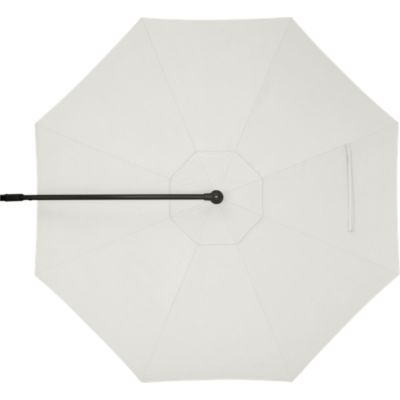 10' Round Sunbrella® White Sand Free-Arm Umbrella Cover