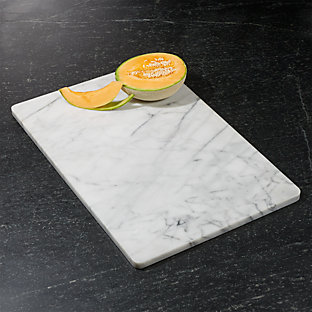 French Kitchen Marble Cheese Board With Slicer Crate And