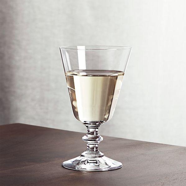 French Wine Glass