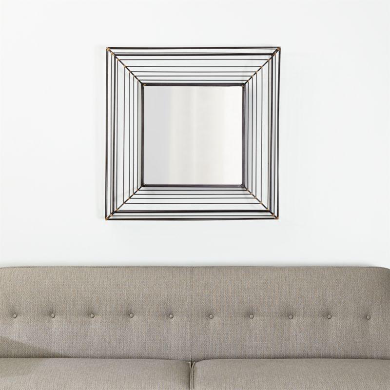 Freya Square Wall Mirror