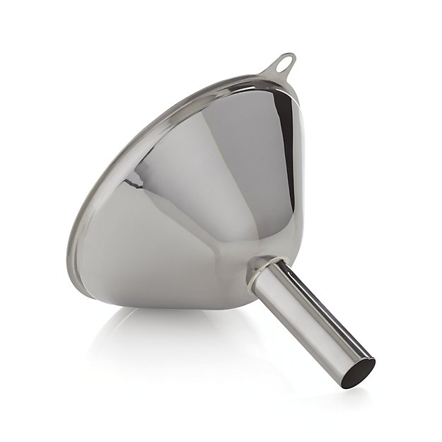 Stainless-Steel Funnel