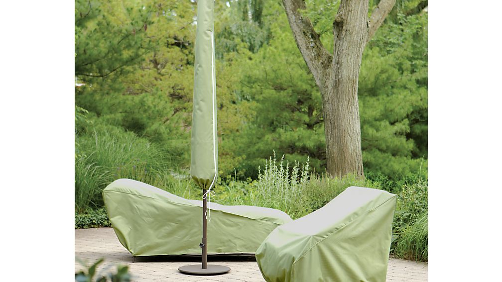 Large Umbrella Outdoor Furniture Cover