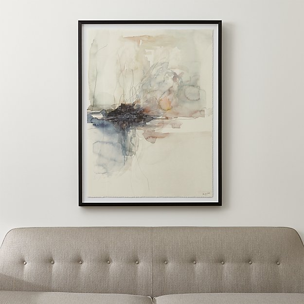 Watercolor Abstract Art | Crate and Barrel