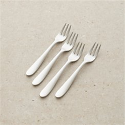 Set of 4 Fusion Appetizer Forks