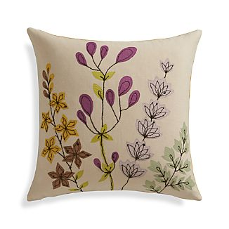 "Gabby 16"" Pillow with Feather-Down Insert"