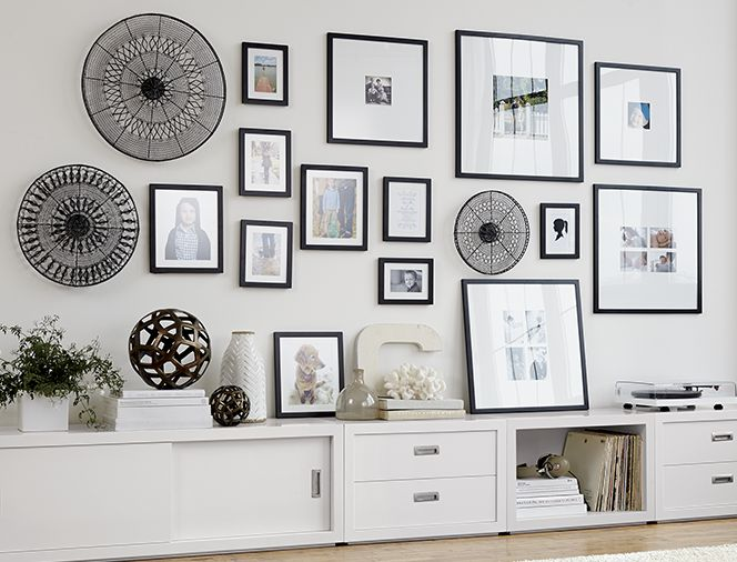Wall Design Ideas Pinterest : Gallery wall ideas crate and barrel