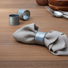 Galvanized Iron Napkin Ring