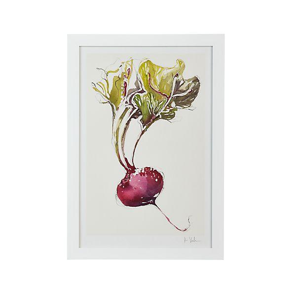 Garden Beet Print