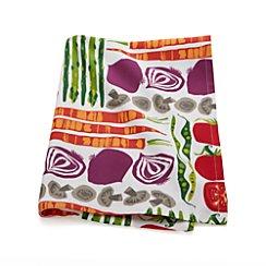 Garden Veggies Dish Towel