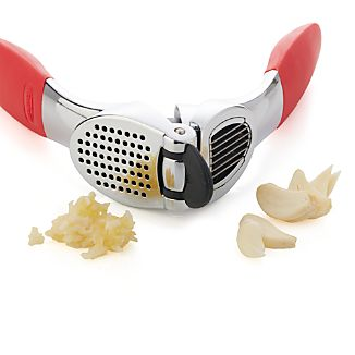 Red Garlic Press & Slice