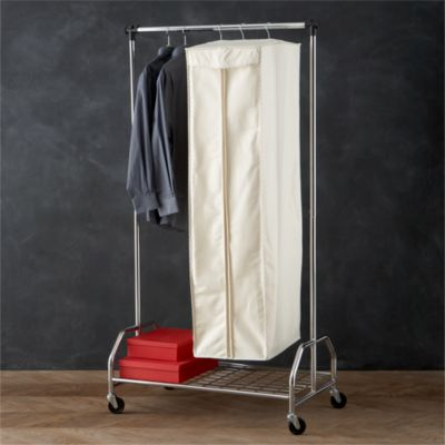 Twill Hanging Garment Storage Bag with Ticking