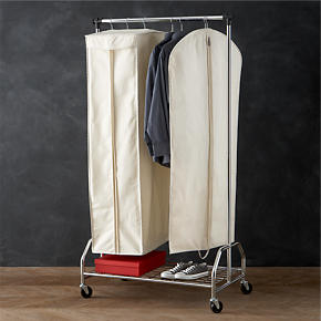 Twill Hanging Garment Storage Bags with...