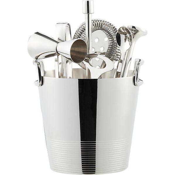 Gatsby Bar Tools with Ice Bucket