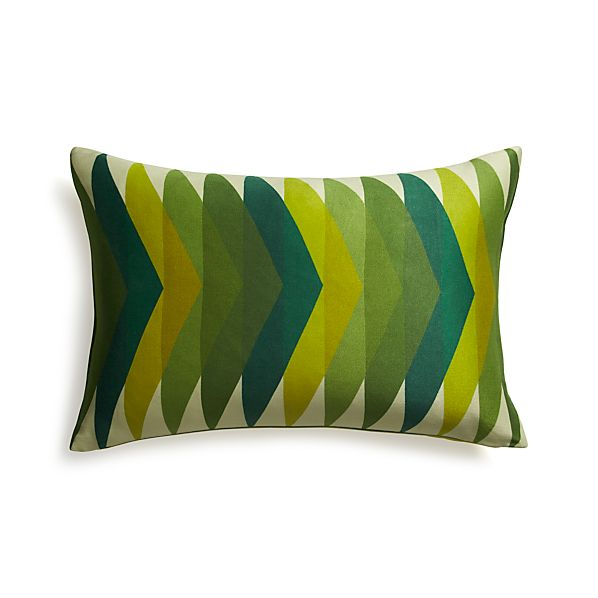 "Gavino 24""x16"" Pillow with Feather-Down Insert"
