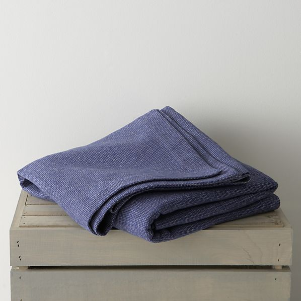 Geneva Blue Twin Blanket