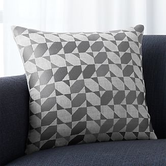 "Genton Grey 18"" Pillow"