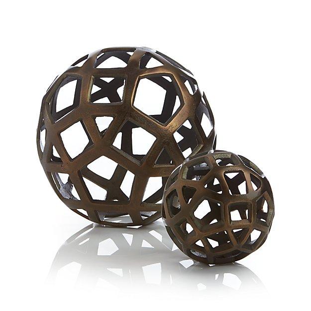Geo Decorative Metal Balls