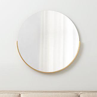Gerald Small Round Wall Mirror