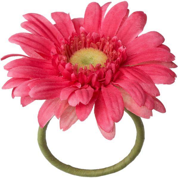 Gerber Daisy Pink Napkin Ring