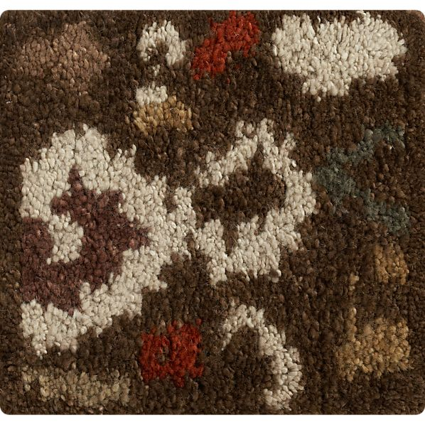 "Gertie Cocoa 12"" sq. Rug Swatch"